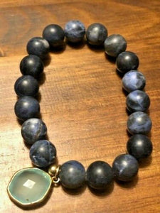 METAPHYSICAL ECOSYSTEMS FOR THE SOUL. REAL STONE BRACELET