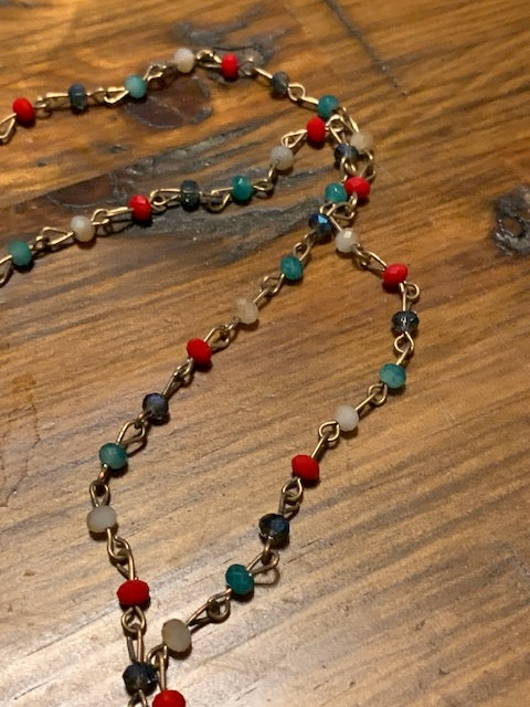 Turquoise Spirit Guide Necklace, Bestowal of Gifts