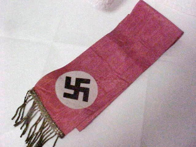 NAZI BANNER OF EXPERIMENTATION