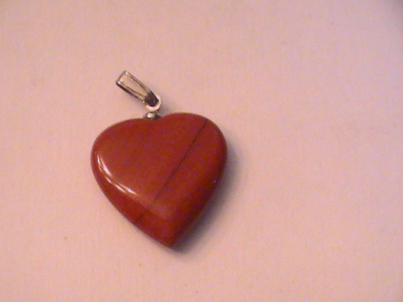 HOPEFUL HEARTS COLLECTION -- PIECE 2 -- RED JASPER