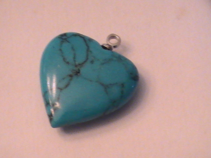 HOPEFUL HEARTS COLLECTION -- PIECE 3 -- TURQUOISE