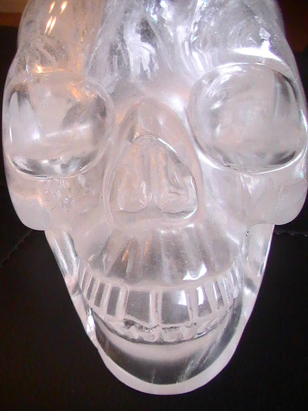 THE ELUSIVE CRYSTAL SKULL