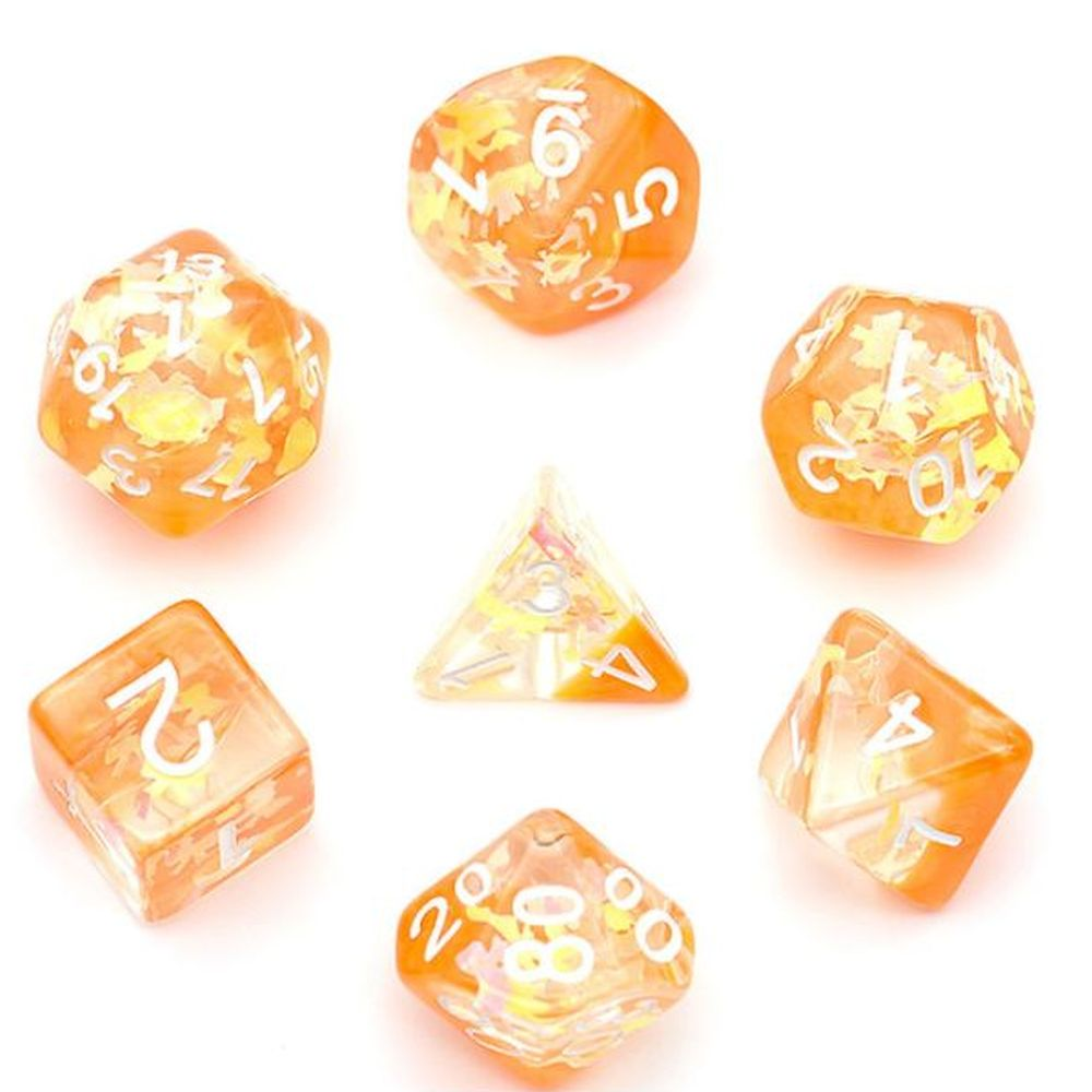 Pretty Bow Polyhedral Dice Set for Dungeons & Dragons