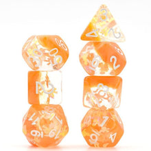 Load image into Gallery viewer, Pretty Bow Polyhedral Dice Set for Dungeons & Dragons