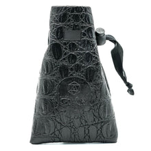 Load image into Gallery viewer, Skull Leather Polyhedral Dice Bag for DND Dungeons & Dragons