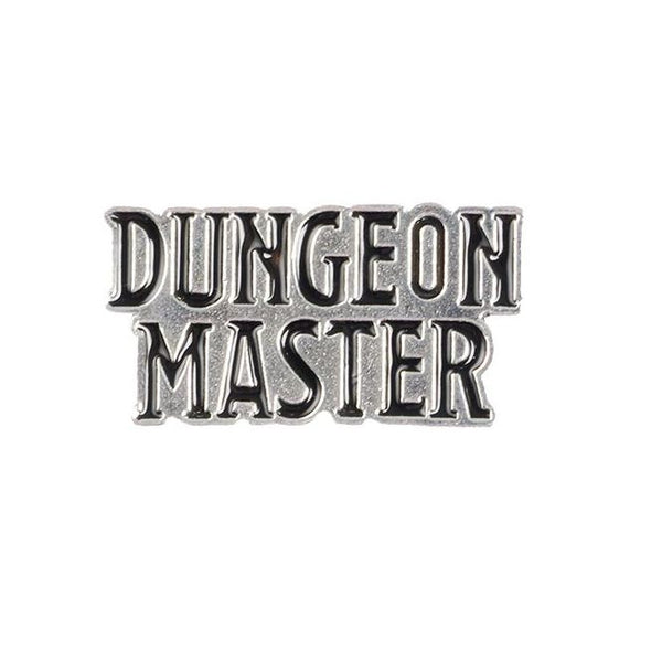 Dungeon Master Pin - Dungeons & Dragons Brooch