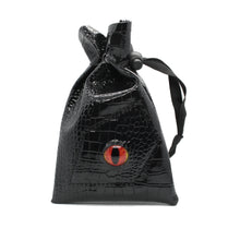 Load image into Gallery viewer, Dragon Eye Polyhedral Dice Leather Pouch for Dungeons & Dragons