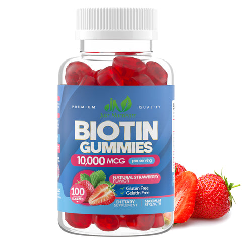 Biotin 10,000mcg Gummies for Women & Men