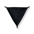 Leather Triangle Catch All Black