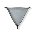Leather Triangle Catch All Grey
