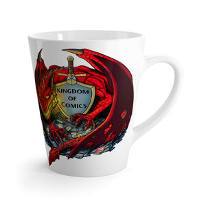 Dragon Collection - Dragon Logo Latte mug