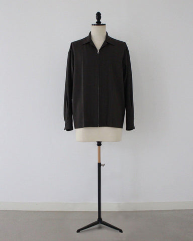 T/R 2way stretch zip shirts