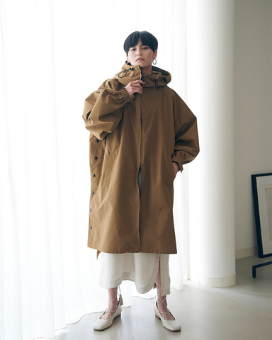 High count weather hoodie coat