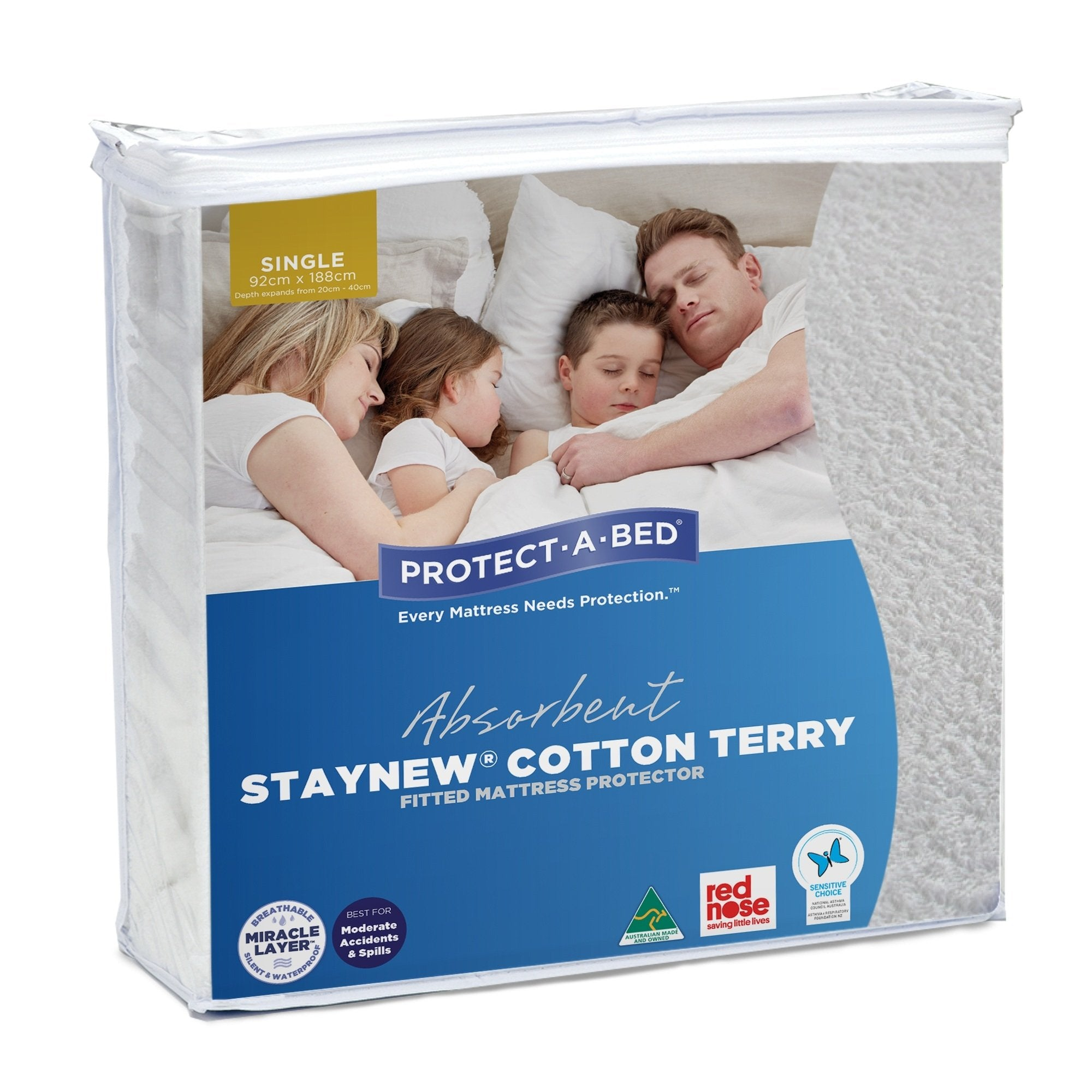 Protect-A-Bed Staynew Mattress Protector