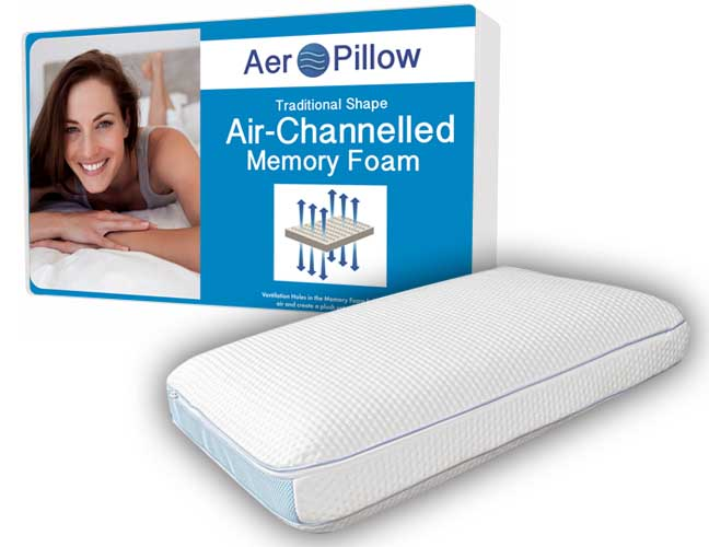 Aero Ventilated Classic Memory Foam Pillow