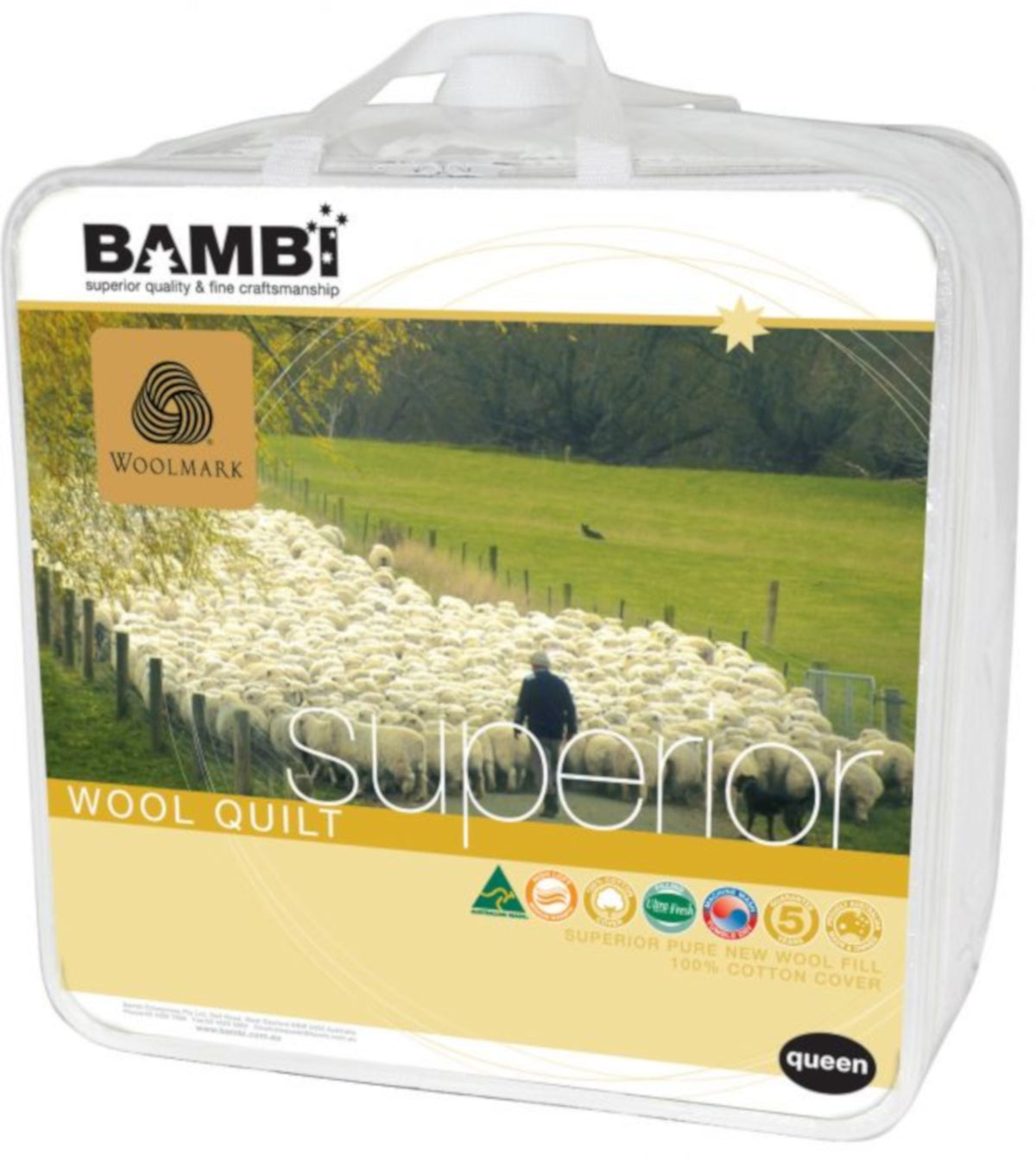Bambi Superior All Seasons Quilt