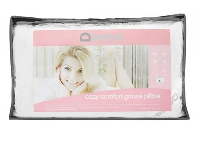 Downia Cozy Comfort Collection Goose Pillow
