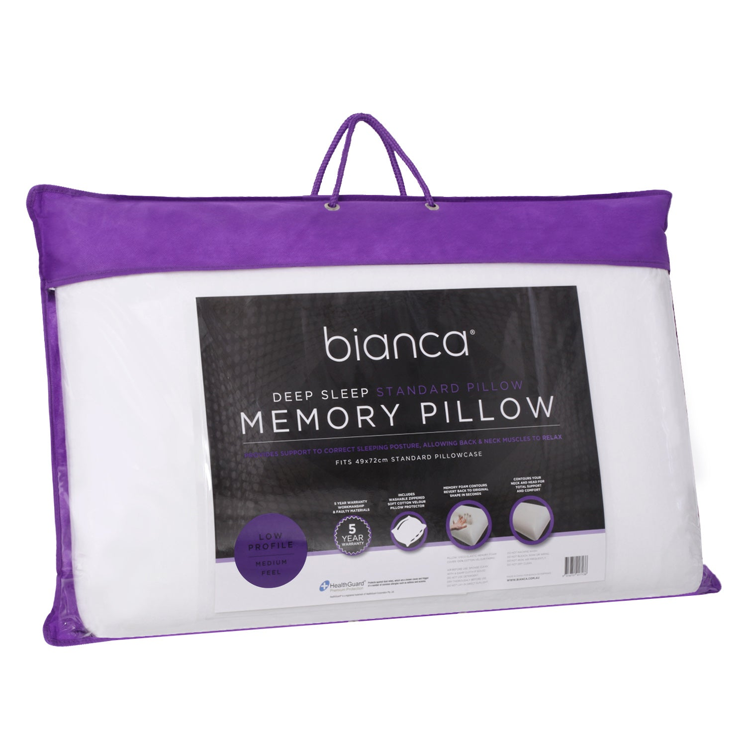 Bianca Deep Sleep Low Line Pillow