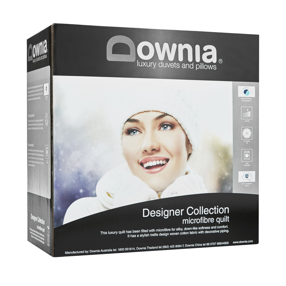 Downia Designer Collection Microfibre Quilt