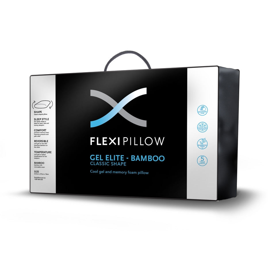 Flexi Pillow - Gel Classic With Bamboo