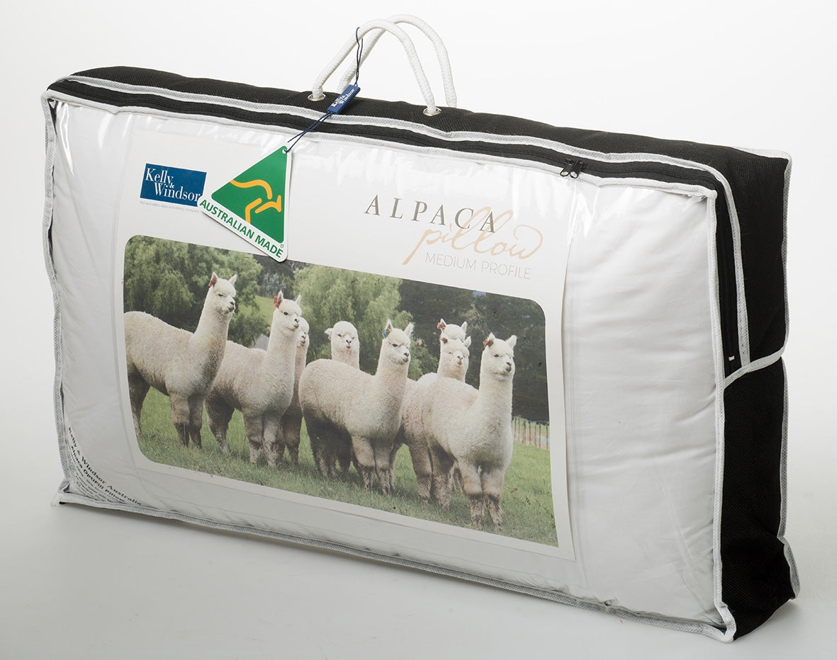 Kelly and Windsor Alpaca Optifill Pillow