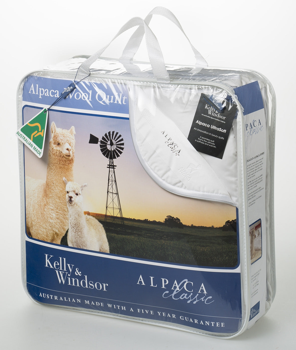 Kelly & Windsor Alpaca & Wool Classic 450 GSM Quilt