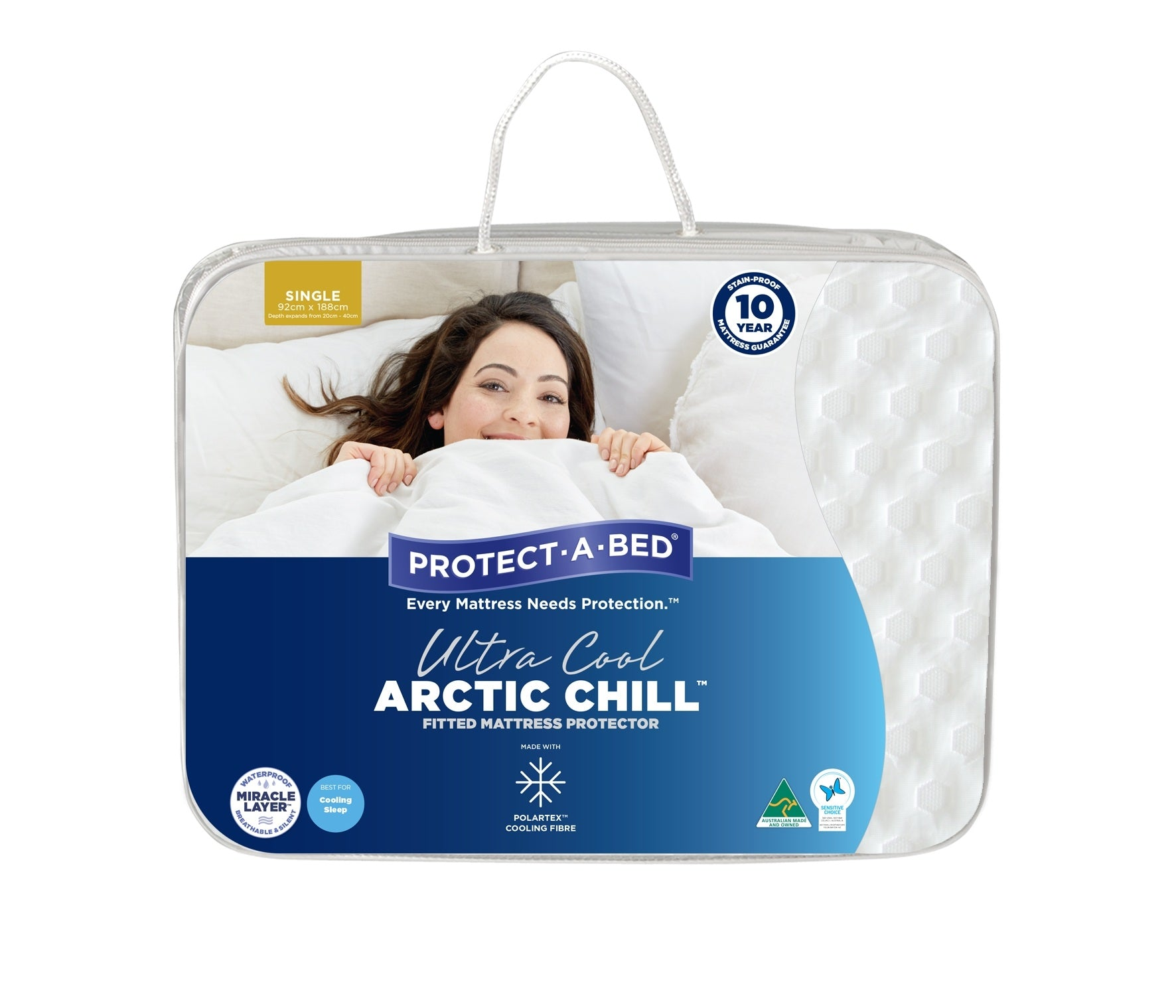 Protect-a-Bed Arctic Chill Waterproof Mattress Protector