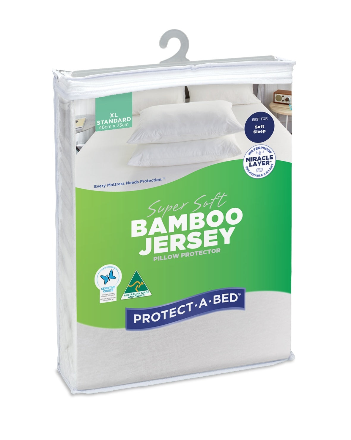Protect-A-Bed Bamboo Jersey Pillow Protector
