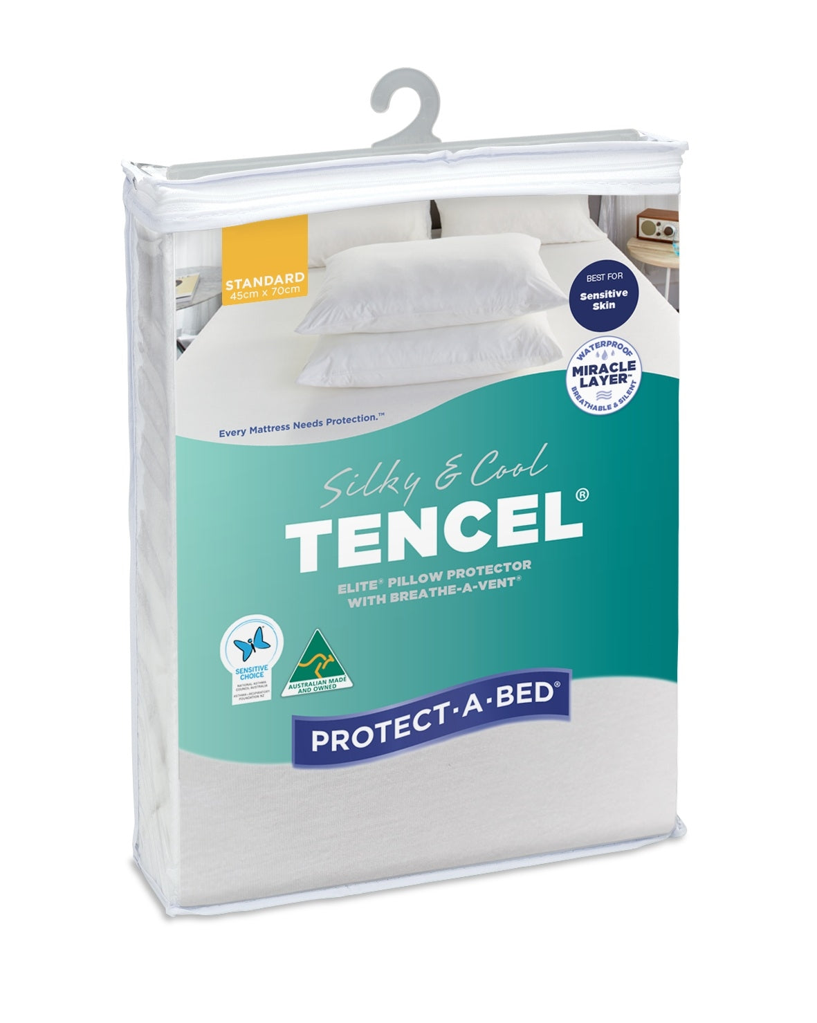 Protect-A-Bed Tencel Elite Pillow Protector