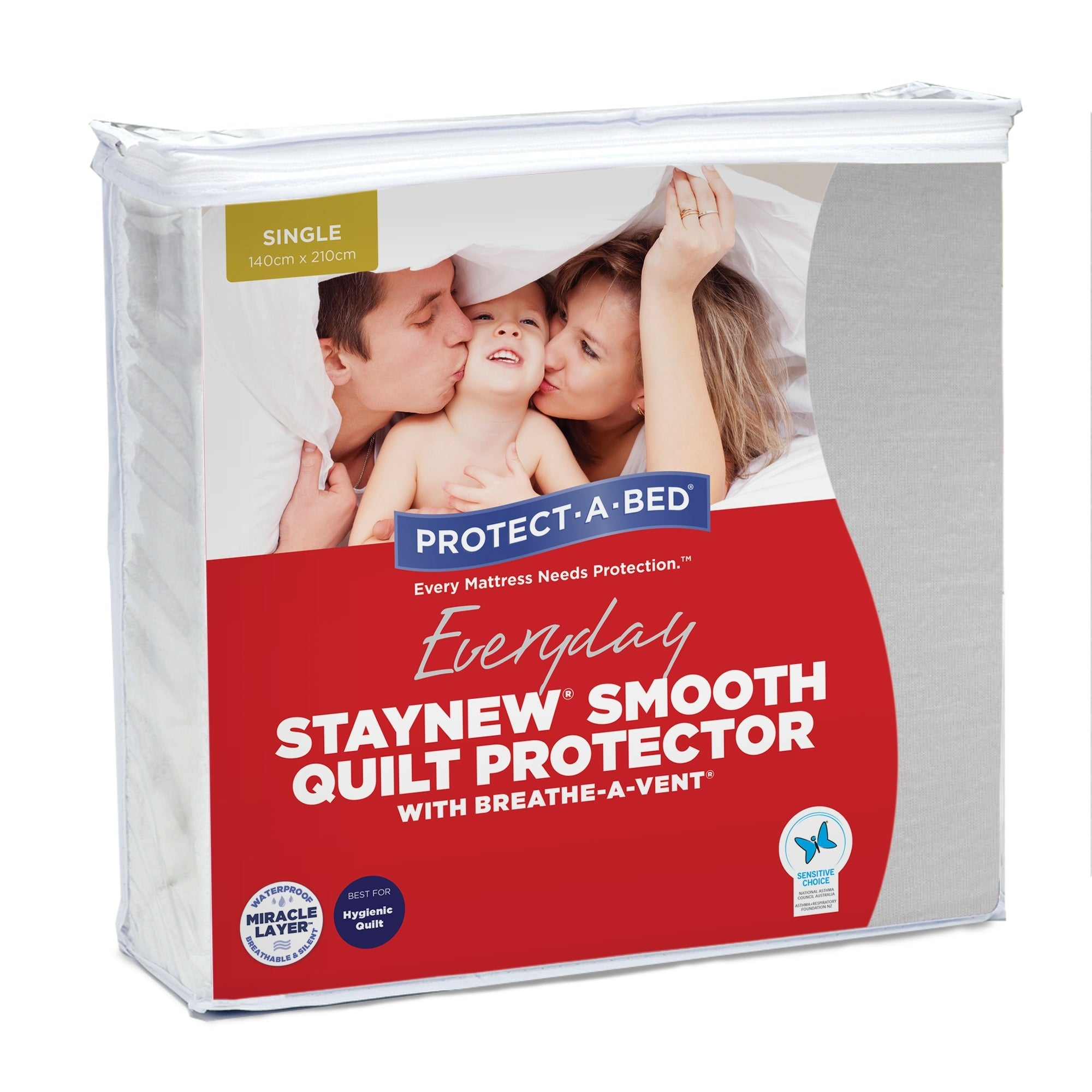 Protect-A-Bed Staynew Smooth Quilt Protector