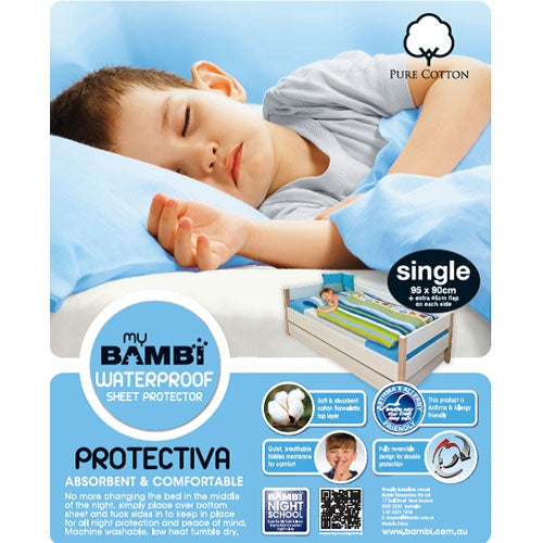 Bambi Protectiva Cotton Sheet Protector