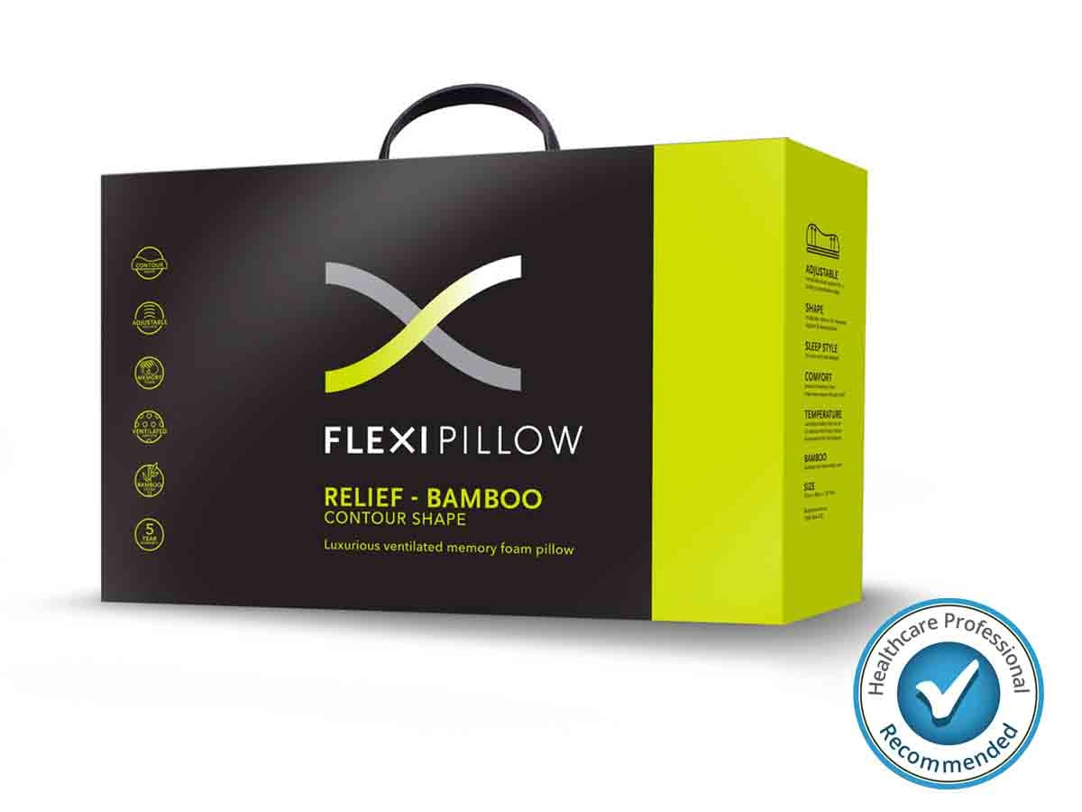 Flexi Pillow - Relief Contour with Bamboo