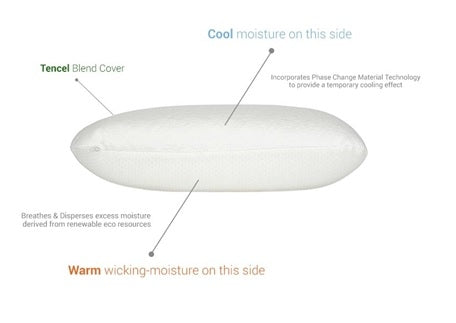 Bambi Ingeo CoolTouch Flip Pillow