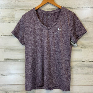 Primary Photo - BRAND: UNDER ARMOUR STYLE: ATHLETIC TOP SHORT SLEEVE COLOR: PURPLE SIZE: M SKU: 132-13219-198284