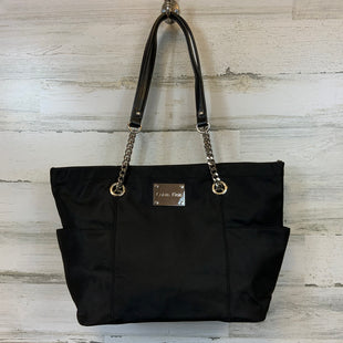 Primary Photo - BRAND: CALVIN KLEIN STYLE: HANDBAG COLOR: BLACK SIZE: LARGE MEASUREMENTS: 12.5 X 6.25 X 10.75SKU: 132-13262-40214