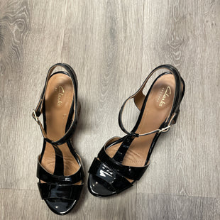 Primary Photo - BRAND: CLARKS STYLE: SANDALS HIGH COLOR: BLACK SIZE: 9.5 SKU: 132-13219-189526