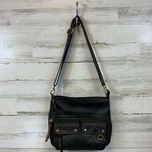 Primary Photo - BRAND: FOSSIL STYLE: HANDBAG COLOR: BLACK SIZE: LARGE 12 X 14 X 2 1/2SKU: 132-13219-196222