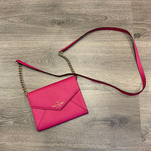 Primary Photo - BRAND: KATE SPADE STYLE: HANDBAG COLOR: PINK SIZE: SMALL OTHER INFO: INK ON INSIDE FLAP SKU: 132-13219-197899