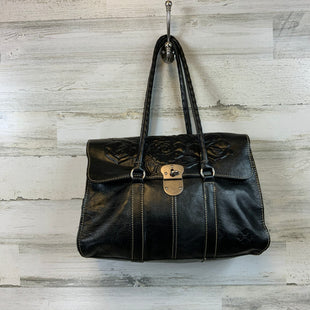 Primary Photo - BRAND: PATRICIA NASH STYLE: HANDBAG DESIGNER COLOR: BLACK SIZE: LARGE OTHER INFO: 10 X 13.5 X 3 SKU: 132-13228-164197