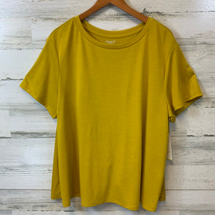 Primary Photo - BRAND: OLD NAVY O STYLE: ATHLETIC TOP SHORT SLEEVE COLOR: YELLOW SIZE: L OTHER INFO: CROSSOVER BACK, SWINGY SKU: 132-13288-19877