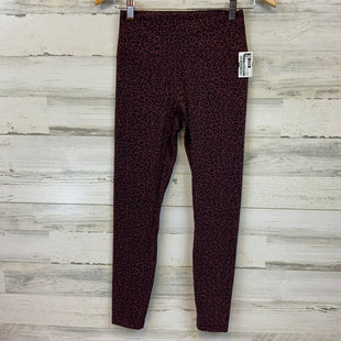 Primary Photo - BRAND:    CLOTHES MENTOR STYLE: ATHLETIC PANTS COLOR: PURPLE SIZE: S OTHER INFO: ANIMAL PRINT SKU: 132-13288-20713