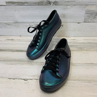 Primary Photo - BRAND:  CMB STYLE: SHOES FLATS COLOR: BLUE SIZE: 9 OTHER INFO: MELISSA - LACE UP JELLY SKU: 132-13262-40107