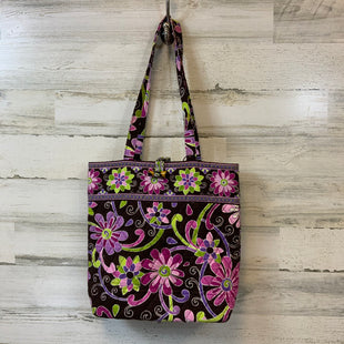 Primary Photo - BRAND: VERA BRADLEY CLASSIC STYLE: HANDBAG COLOR: PURPLE SIZE: MEDIUM SKU: 132-13288-1536713 BY 13 BY 4. POCKETS ON THE INSIDE.
