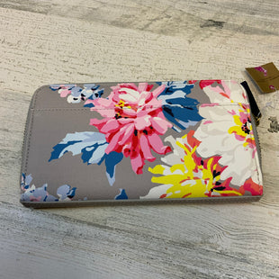 Primary Photo - BRAND:   JOULES STYLE: WALLET COLOR: FLORAL SIZE: MEDIUM OTHER INFO: JOULES - GRAY/PINK/BLUE/YELLOW/WHITE SKU: 132-13288-20461