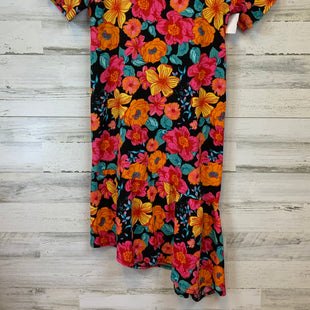 Primary Photo - BRAND: ZARA WOMEN STYLE: DRESS SHORT SHORT SLEEVE COLOR: FLORAL SIZE: L OTHER INFO: PINK/BLACK/ORANGE SKU: 132-13211-99993
