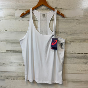 Primary Photo - BRAND: ASICS STYLE: ATHLETIC TANK TOP COLOR: WHITE SIZE: XL SKU: 132-13288-19879