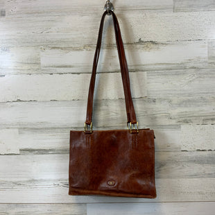 Primary Photo - BRAND:  CMA STYLE: HANDBAG LEATHER COLOR: BROWN SIZE: LARGE OTHER INFO: THE BRIDGE - 9 X 12 X 5 RETAILS APPROX $300 SKU: 132-13262-38961