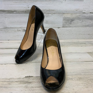 Primary Photo - BRAND: COLE-HAAN STYLE: SHOES LOW HEEL COLOR: BLACK SIZE: 9 OTHER INFO: PATENT LEATHER PEEP TOE SKU: 132-13262-40274