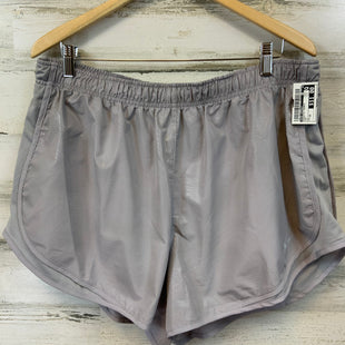Primary Photo - BRAND: NIKE APPAREL STYLE: ATHLETIC SHORTS COLOR: GREY SIZE: 1X SKU: 132-13219-198572LINED