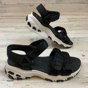 Primary Photo - BRAND: SKECHERS STYLE: SANDALS LOW COLOR: BLACK SIZE: 8 SKU: 132-13260-14219